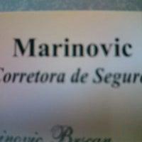 Photo taken at Marinovic Corretora De Seguros by ney Marinovic B. on 4/3/2013