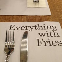 Photo taken at Everything With Fries by Ming T. on 10/27/2012