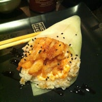 Photo taken at Sushi Shop by Cecilia M. on 1/24/2013