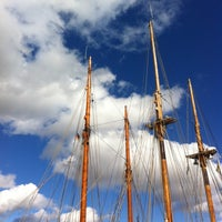Photo taken at Museumshafen Greifswald by Andreas B. on 8/29/2016