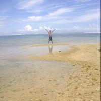 Photo taken at Pantai Ujung Genteng by mike on 3/15/2013