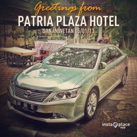 Photo taken at Patria Plaza Hotel by Charles H. on 1/5/2013