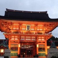 Photo taken at Fushimi Inari Taisha by Kyoko O. on 10/28/2012