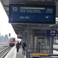 Photo taken at RE München - Ulm by Holger S. on 3/11/2015