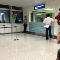 Photo taken at Landing Visa Counter by Holger S. on 4/23/2013