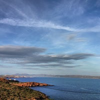 Photo taken at Cape Sounion by Charis T. on 4/10/2013