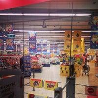Photo taken at Rimi Hypermarket by Andrey V. on 8/16/2014