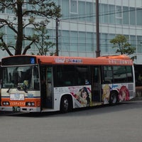 Photo taken at 三島駅 バスターミナル by masa r. on 4/10/2017