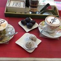 "Photo taken at Čokolaterija ""Flora Desserts"" by Anastasia B. on 9/30/2016"