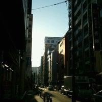 Photo taken at Toyoko Inn Tokyo Nihombashi by Tetsuyuki N. on 12/8/2012