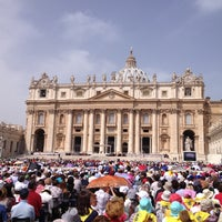 Photo taken at Saint Peter's Square by Maximilian S. on 5/1/2013