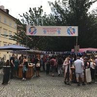 Photo taken at Francouzský trh na Kampě by Luci on 7/16/2017