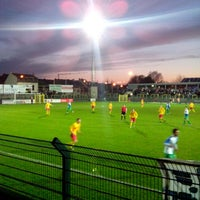 Photo taken at Sporting Hasselt by Jan D. on 4/20/2013