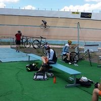 Photo taken at Chicago Velo Campus by Jeremy T. on 7/27/2014