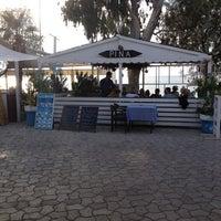 10/27/2012 tarihinde Başar B.ziyaretçi tarafından Pina Lounge Cafe & Beach'de çekilen fotoğraf