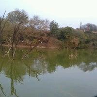 Photo taken at Hauz Khas Lake by Ilya L. on 2/17/2013