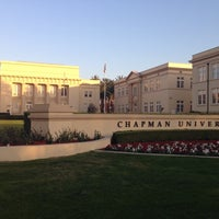 Photo taken at Chapman University - Dodge College of Film and Media Arts by Rowena L. on 1/9/2014