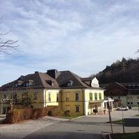 Das Foto wurde bei Sheraton Fuschlsee-Salzburg Hotel Jagdhof von D. K. am 11/4/2013 aufgenommen