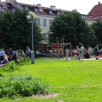 Photo taken at Rūdninkų skveras by Vytas R. on 5/26/2013