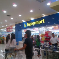 Photo taken at hypermart by 'THAZYA' Anastasia Rizki on 10/23/2012