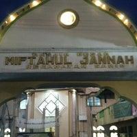 Photo taken at Masjid Miftahul Jannah by 'THAZYA' Anastasia Rizki on 7/19/2013