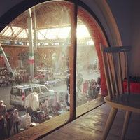 Photo taken at Cortile del Maglio by Aurora I. on 2/9/2014