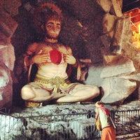 Photo taken at Hanuman mandir by Aurora I. on 8/19/2013
