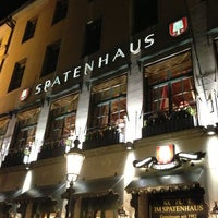 Photo taken at Spatenhaus an der Oper by Aurora I. on 4/1/2013
