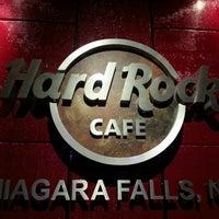 Photo taken at Hard Rock Cafe Niagara Falls USA by Hafiz L. on 10/15/2013