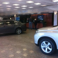 Photo taken at Bay Ridge Lexus by Olga S. on 5/4/2013