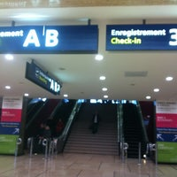 Photo taken at Terminal Sud by Habiba A. on 11/4/2012