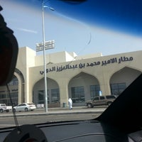 Photo taken at Prince Mohammad Bin Abdulaziz International Airport (MED) by Mohammed A. on 2/24/2013