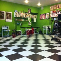 Photo taken at Bang Bang Custom Tattoo Shop by Valentin Z. on 2/18/2013