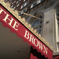 Photo taken at The Brown Hotel by Scott S. on 2/1/2013