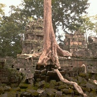 Photo taken at Angkor Wat by DEM G. on 11/16/2012
