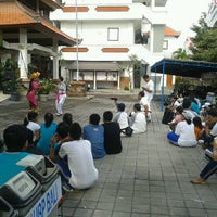 Photo taken at Institut Hindu Dharma Negeri (IHDN) Denpasar by Riska V. on 11/4/2012