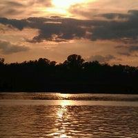 Снимок сделан в Русанівський парк пользователем Alena S. 11/9/2012