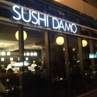 Photo taken at Sushi Damo by Waad A. on 3/6/2013