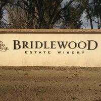 Photo taken at Bridlewood Estate Winery by Carolina H. on 1/23/2013