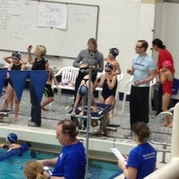 Photo taken at McCoy Natatorium by Marsha B. on 2/24/2013