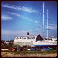 Photo taken at Brick Cove Marina and Pool by Adam S. on 10/6/2012