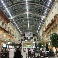 Photo taken at Mercato Mall by Bint Alnoor on 2/24/2013