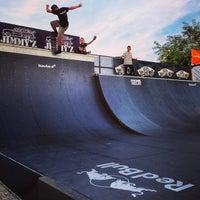 Photo taken at Skatepark Usmate - Bonassodromo by Daryomh on 9/14/2013