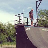 Photo taken at Skatepark Usmate - Bonassodromo by Daryomh on 6/2/2013