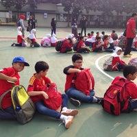 Photo taken at Sekolah Al-Azhar BSD by Liah R. on 10/27/2015