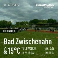 Photo taken at Stadion Bad Zwischenahn by Steffen W. on 5/17/2015