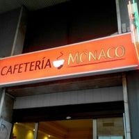 Photo taken at Cafetería Mónaco by Jordi P. on 8/1/2015