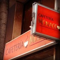 Photo taken at Cafetería Mónaco by Jordi P. on 8/24/2017