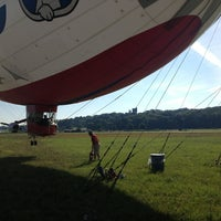 Photo taken at Blimp Mast Site Akron by Clifford S. on 7/30/2013