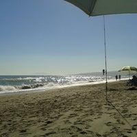 Photo taken at Playa Ferrara by Fernando L. on 5/30/2013
